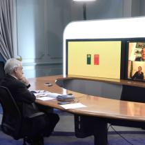 Piñera se reúne virtualmente con Bachelet, Lagos y Frei para hablar sobre la situación del Covid-19 en Chile y la recesión económica mundial
