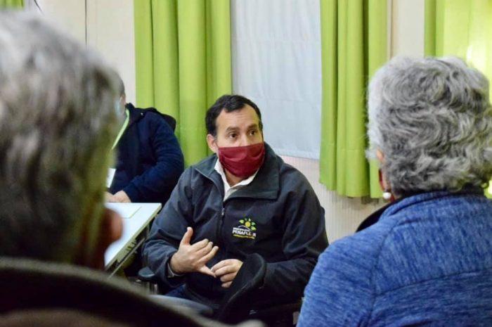 """Nos sentimos como una verdadera zona de sacrificio"": alcalde de Peñaflor acusa abandono del Gobierno e insiste con llamado a cuarentena total"