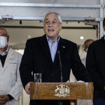 """Senador Montes (PS) apunta a errores de cobertura en medidas del Gobierno mientras Piñera manda a """"reflexionar"""" a quienes lo critican"""