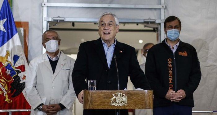 Senador Montes (PS) apunta a errores de cobertura en medidas del Gobierno mientras Piñera manda a