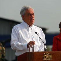 """La Moneda apuesta todo al acuerdo nacional y Piñera pide a la oposición """"poner en cuarentena nuestras diferencias"""""""