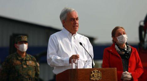 La Moneda apuesta todo al acuerdo nacional y Piñera pide a la oposición