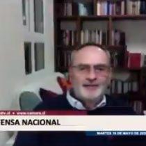 """""""Esta vieja que nos cae mal"""": diputado Saffirio lanza insulto a periodista Mónica González en plena sesión parlamentaria, pensando que no era escuchado"""