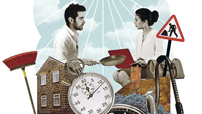 """""""Hombres cero"""": 71% de hombres dedicó cero horas al acompañamiento de sus hijos e hijas en tareas escolares"""