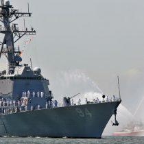 Buque de Armada EEUU navega cerca de costa venezolana tras llegada de barco carga iraní
