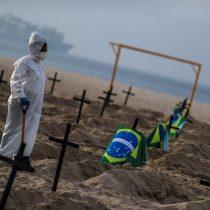 Triste récord: Brasil supera el millón de casos de COVID-19 y se aproxima a las 50.000 muertes