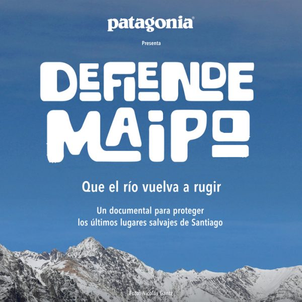 "Estreno online documental ""Defiende Maipo"" sobre proyecto Alto Maipo"