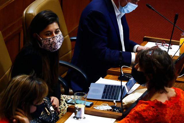 Diputada Cicardini (PS) por proyecto que limita cambios de fondos de AFP: