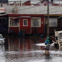 Sistema frontal provocó inundaciones y cortes de luz en varias regiones del sur