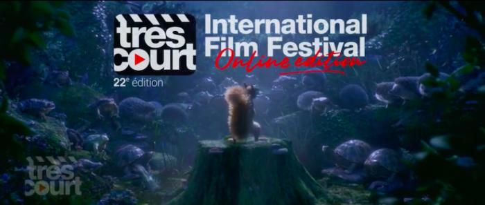 Festival de cortometrajes Très Court Internacional Filmse vía online