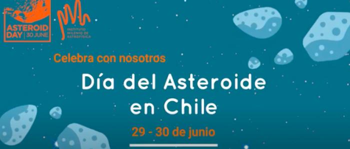 Núcleo de Astronomía UDP celebra Día del Asteroide vía online