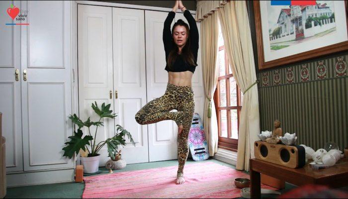 Yoga en línea busca promover la actividad física y el bienestar emocional en pandemia