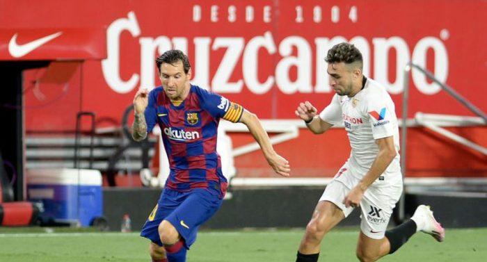 Un deslucido Barcelona enreda puntos ante el Sevilla y podría ser superado por el Real Madrid