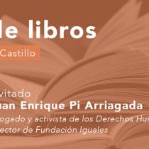 Juan Enrique Pi Arriagada en Cita de libros: Literatura y Derechos Humanos