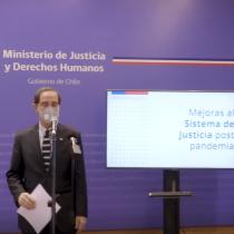 Ministerio de Justicia anuncia creación de mesas de trabajo para asegurar funcionamiento de tribunales una vez culminada la pandemia