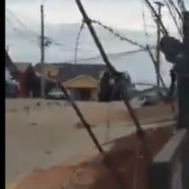 Captan robo de cajas de alimentos en el sector de Rodelillo en Valparaíso