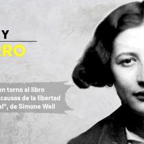 """Cita de libros: El """"grito mudo"""" de Simone Weil ante la pobreza actual"""