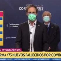 """Las contradicciones del Minsal: subsecretario Zúñiga asegura que """"no es bueno estar cambiando a cada rato las metodologías"""""""