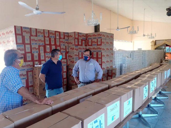 """""""Alimentos para Chile"""" sigue sumando polémicas: denuncia PS ante la Contraloría por compra de cajas revela pugna electoral en Arica"""