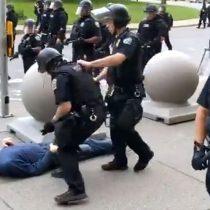 Trump lanza teoría de la conspiración sobre agresión policial a manifestante de 75 años