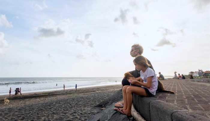 Bali, el exótico refugio para un millar de turistas durante la pandemia