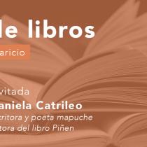 """Daniela Catrileo en Cita de libros: """"El territorio no es simplemente un espacio, también son huellas, son cuerpos, son muertes"""""""