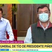 Intendente Guevara va en defensa del Presidente Piñera por polémico video del funeral de su tío arzobispo