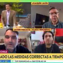"""Javier Macaya (UDI) defiende la gestión del Gobierno ante el COVID-19: """"El análisis es más profundo como para decir que es un fracaso"""""""