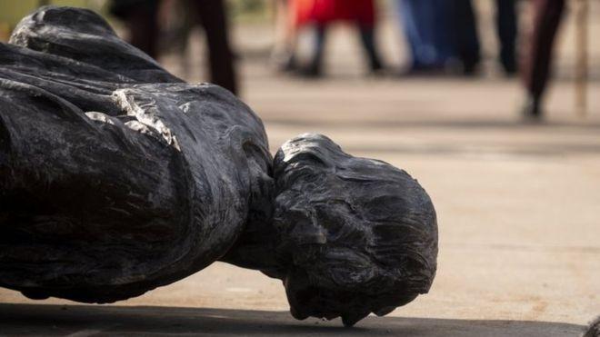 Protestas en EE.UU: las estatuas de Colón destruidas en las manifestaciones antirracistas