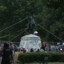 Ley antivandalismo: Trump quiere impedir que derriben estatuas con castigo de 10 años de cárcel