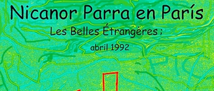 """Película """"Nicanor Parra en París.Les Belles Étrangères"""" de Luis Pradenas vía onlina"""