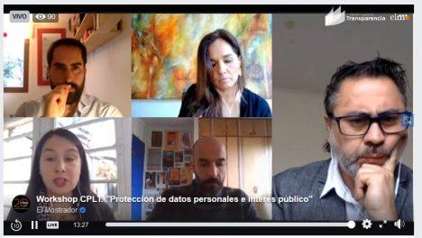 Especialistas apuntan a modernizar la ley de protección de datos en workshop del CPLT y El Mostrador