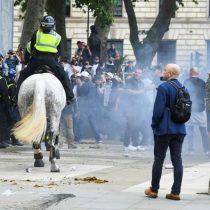 Quince heridos en enfrentamientos en el centro de Londres
