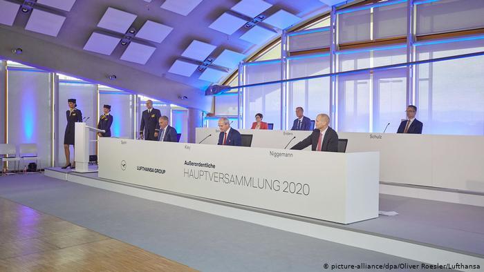 Accionistas de Lufthansa aprueban plan de rescate que implica el retorno del Estado alemán a la empresa