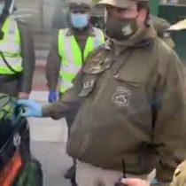 Sujeto intentó evadir control sanitario escondido en el maletero de un taxi