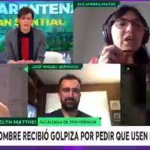 "El tenso cruce matinal entre alcaldesa Matthei y Alejandra Matus por uso de la palabra ""flaite"""