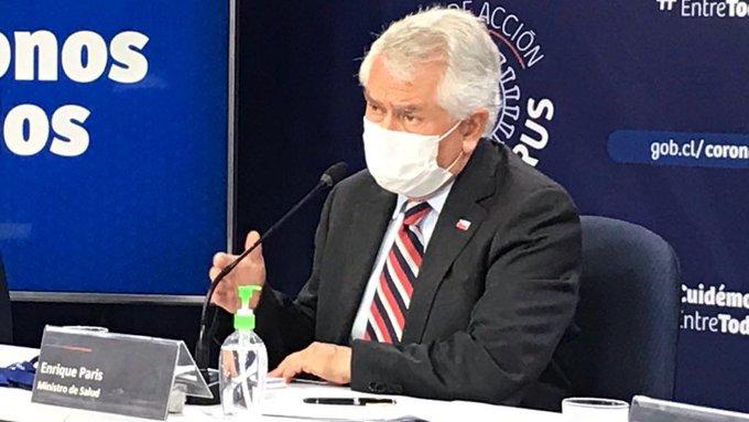 Ministro Paris por peak de contagios: