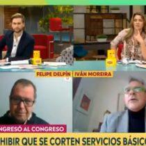 """""""Reclámenme a mí"""": Moreira se va en picada contra la ley que prohíbe el corte de servicios básicos"""