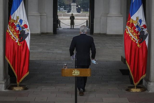 """Sin mea culpa por polémico funeral, Piñera opta por irse en picada contra mociones parlamentarias: """"Nadie está por encima de la ley"""""""