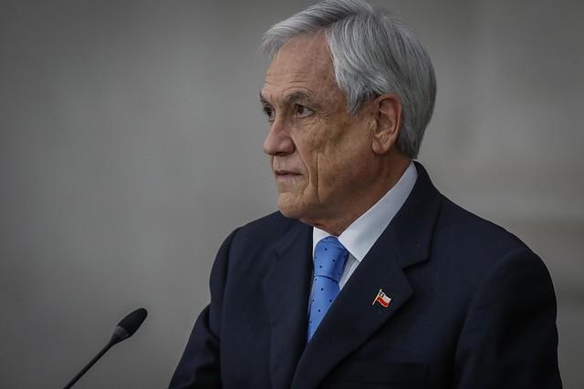 Piñera lamentó fallecimiento de Ángela Jeria: