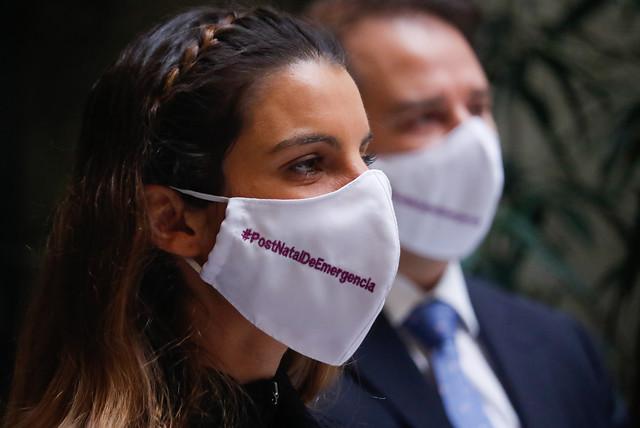 """Bancada Feminista pide analizar la """"letra chica"""" sobre protocolo de acuerdo postnatal más allá de los anuncios"""
