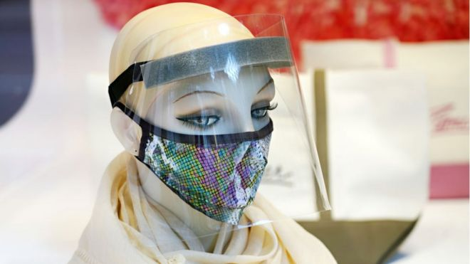 Qué tan buenas son las pantallas faciales para protegernos del coronavirus