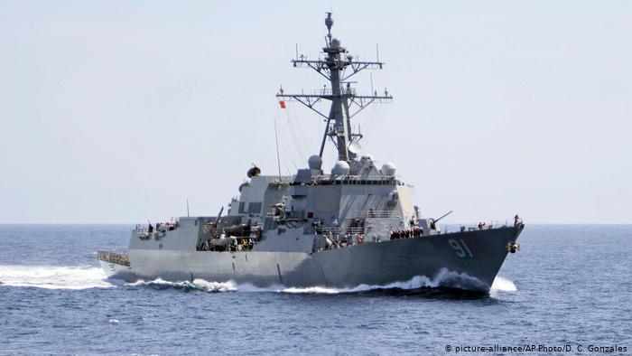 Gobierno venezolano asegura que buque de guerra de EE. UU. ingresó en aguas jurisdiccionales