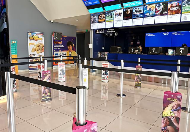 Minsal anunció la reapertura de cines y mall en Aysén, sin embargo la región no tiene