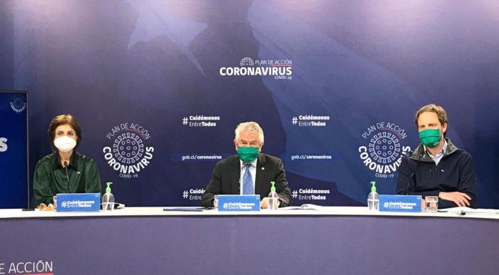 Reporte por covid-19: ministro Paris asegura que casos confirmados bajaron 36% en los últimos 14 días
