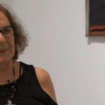 Murió la artista visual Lotty Rosenfeld a los 77 años