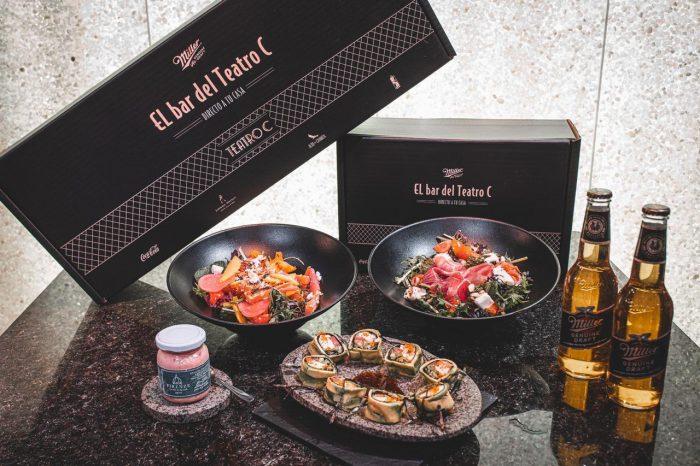 Bar del Teatro C, la nueva plataforma gastronómica directo a tu casa
