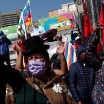 A pesar del covid-19: miles de bolivianos salieron a manifestarse ante aplazamiento de elecciones presidenciales