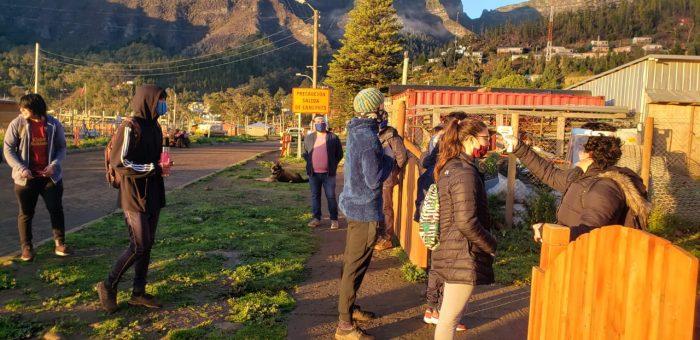 Estudiantes del archipiélago Juan Fernández volvieron a clases presenciales