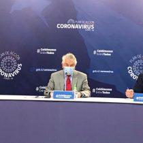 Ministro Paris destaca nuevamente mejoría en cifras de covid-19 y anuncia medidas de desconfinamiento gradual en Los Ríos y Aysén